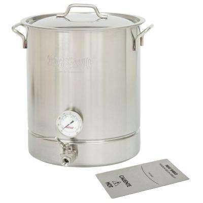 8 gal. Stainless Steel Standard Brew Kettle (4-Piece)