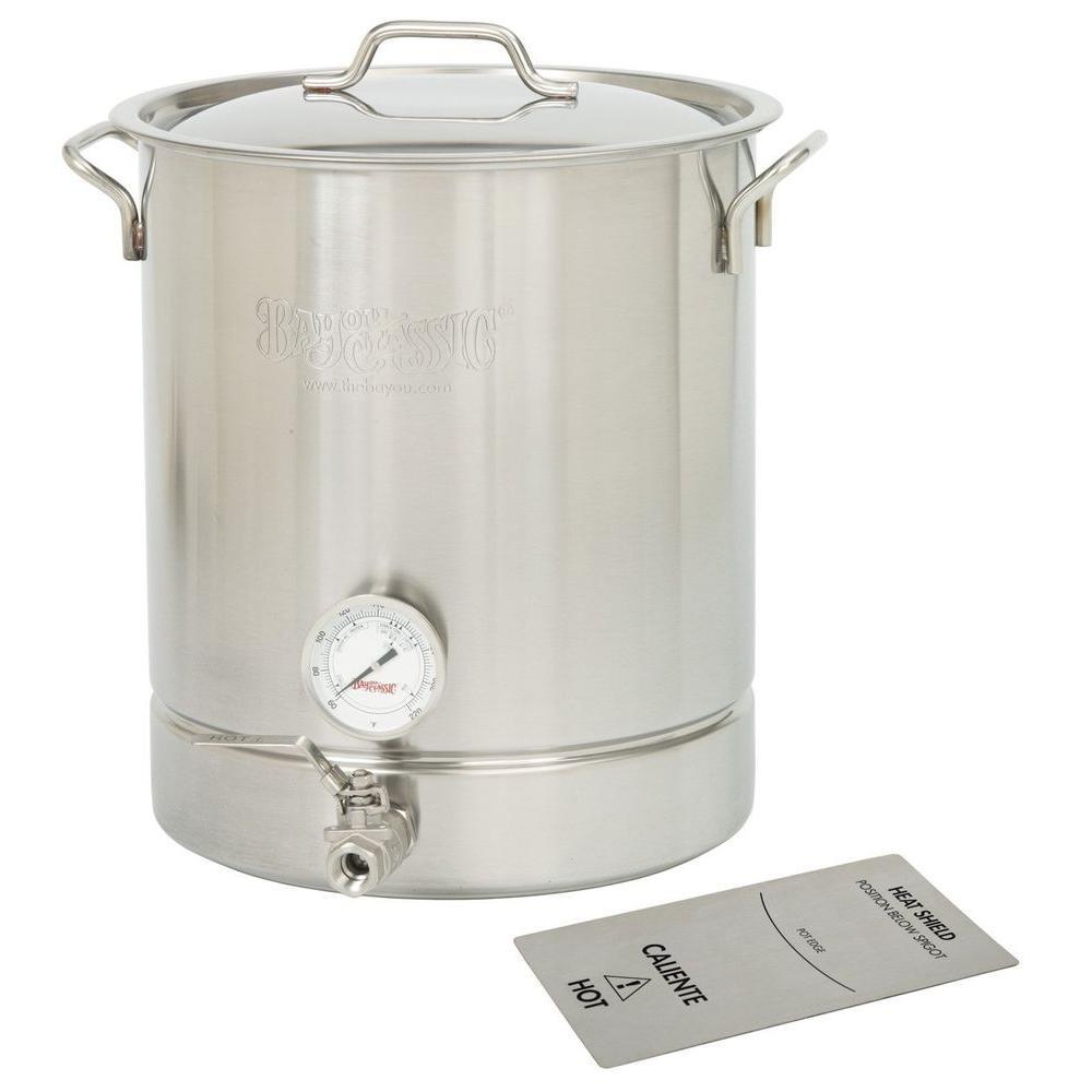 8 gal. Stainless Steel Standard Brew Kettle (4-Piece)