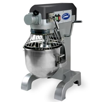 Commercial 10 Qt. 3-Speed Aluminum Stand Mixer with Whip, Beater and Dough Hook Attachments