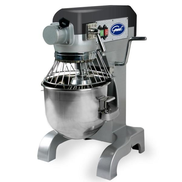 General 10 Qt. Commercial Stainless Stand Mixer GEM110
