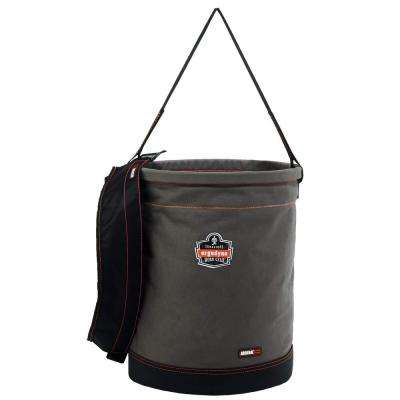 Arsenal 16 in. Tool Bucket in Gray Canvas