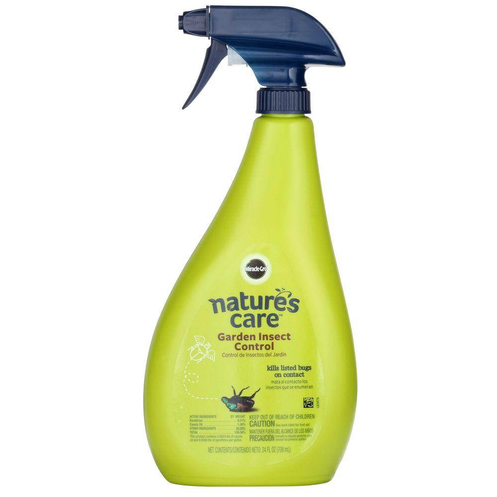 Miracle Gro Nature S Care 24 Oz Garden Insect Control 0754210
