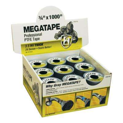 0.75 in. x 1000 in. Mega Tape