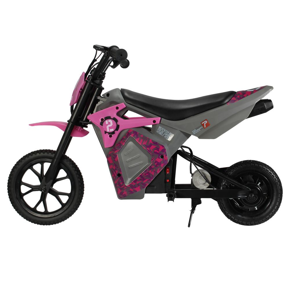 EM-1000 E-Motorcycle in Pink