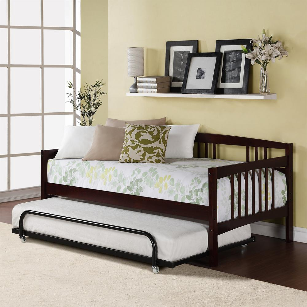 Dorel Living Kayden Espresso Twin Daybed