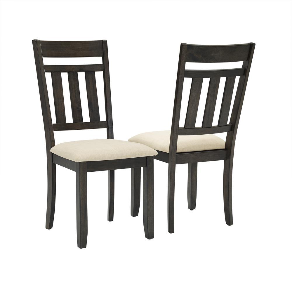 Outstanding Crosley Furniture Hayden 2 Piece Slate Dining Chair Set Ibusinesslaw Wood Chair Design Ideas Ibusinesslaworg