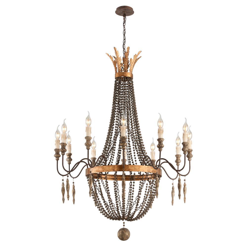 Troy lighting delacroix 12 light french bronze chandelier f3537 troy lighting delacroix 12 light french bronze chandelier arubaitofo Choice Image