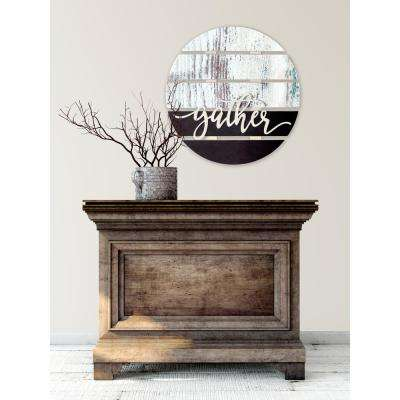 "24 in. W x 24 in. H ""Gather"" by JLB Printed Wall Art"
