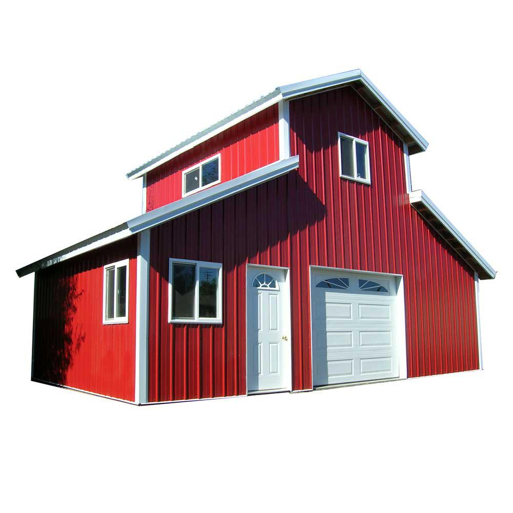 Garages carports garages the home depot wood garage kit without floor solutioingenieria Gallery
