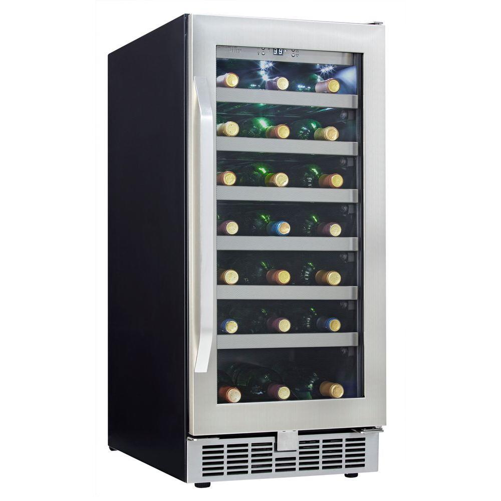 Danby Silhouette Select 15 in. 34- Bottle Wine Cooler