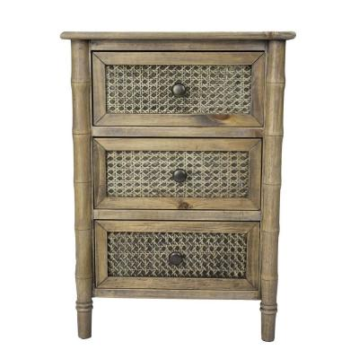 Shelly Rustic with a Drawers Wood Cabinet