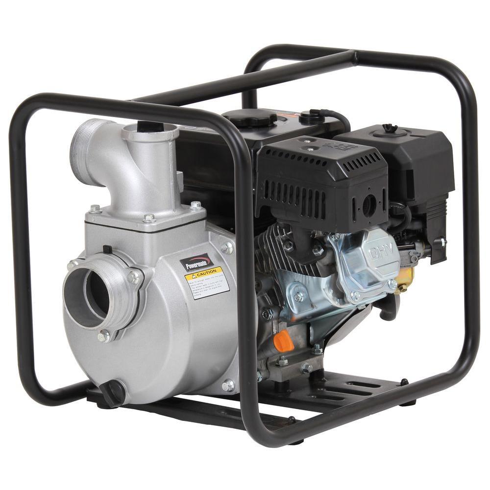 Powermate 6 HP 3 in. Dewatering Pump