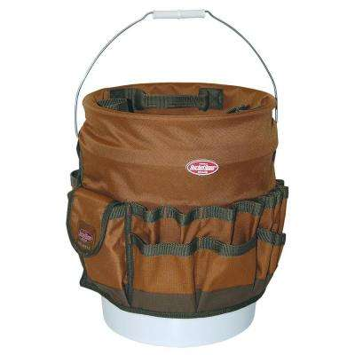 11 in. Tool Bucket BTO in Brown