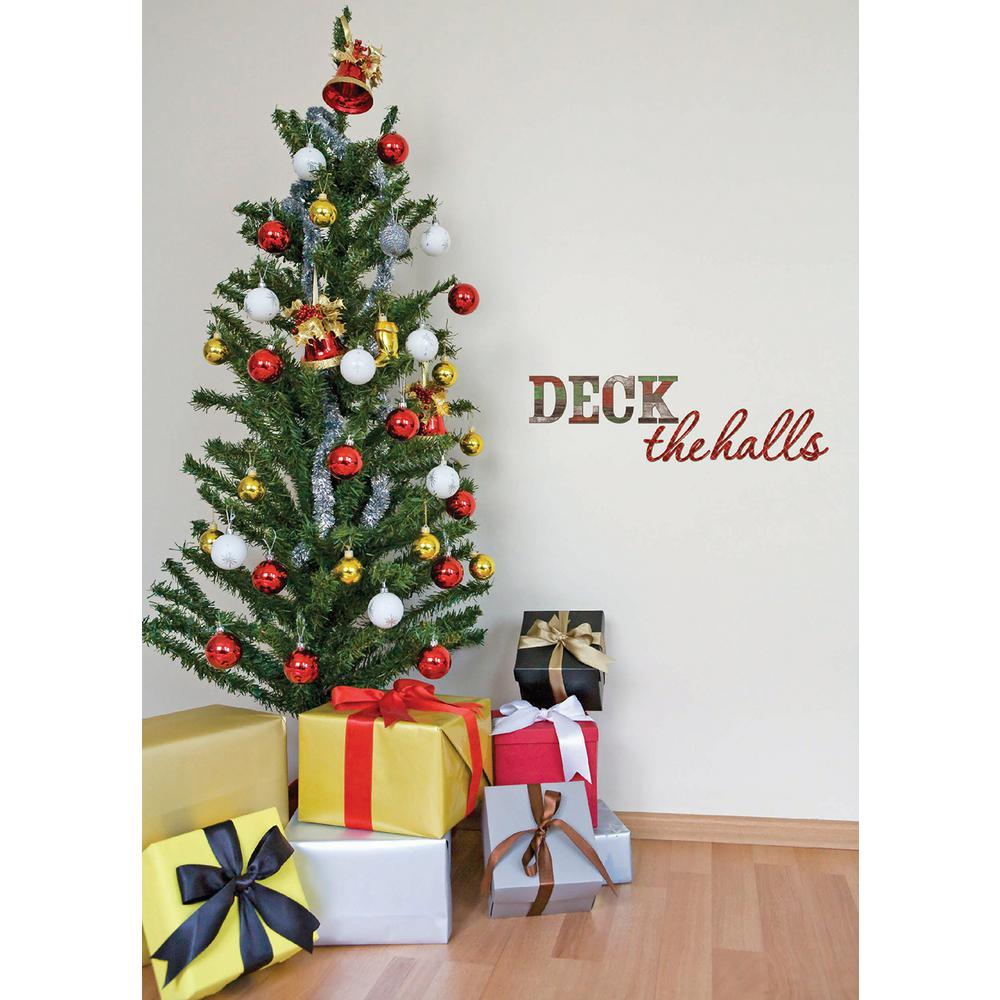 WallPOPs 335 In X 1025 Deck The Halls Wall Quote
