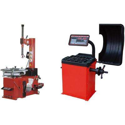 TC-950 & WB-953 Tire Changer and Wheel Balancer Combo