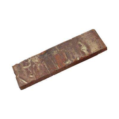 Independence 7.625 in. x 2.25 in. x 0.5 in. Genuine Clay Thin Brick Sample (3-Piece)