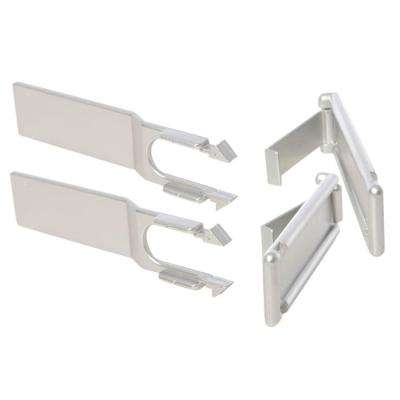 Silver Style Microwave and Oven Locks (2-Pack)