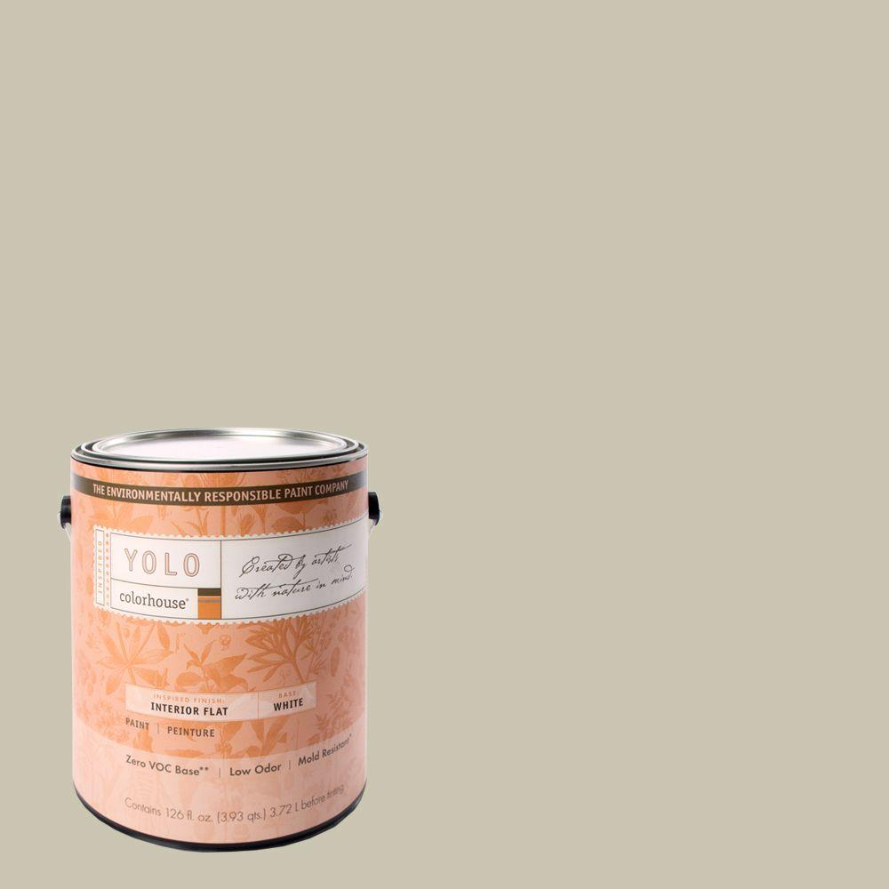 YOLO Colorhouse 1-gal. Metal .01 Flat Interior Paint-DISCONTINUED