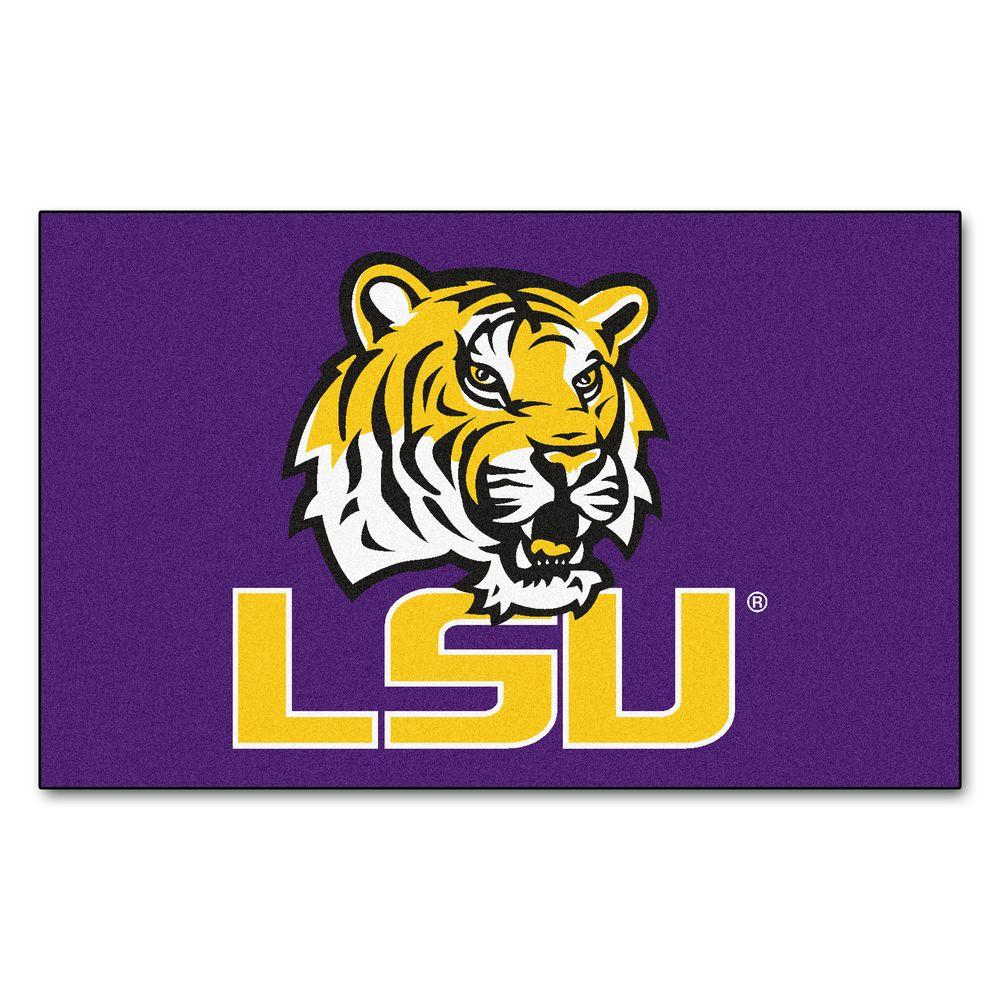 FANMATS Louisiana State University 5 ft. x 8 ft. Ulti-Mat
