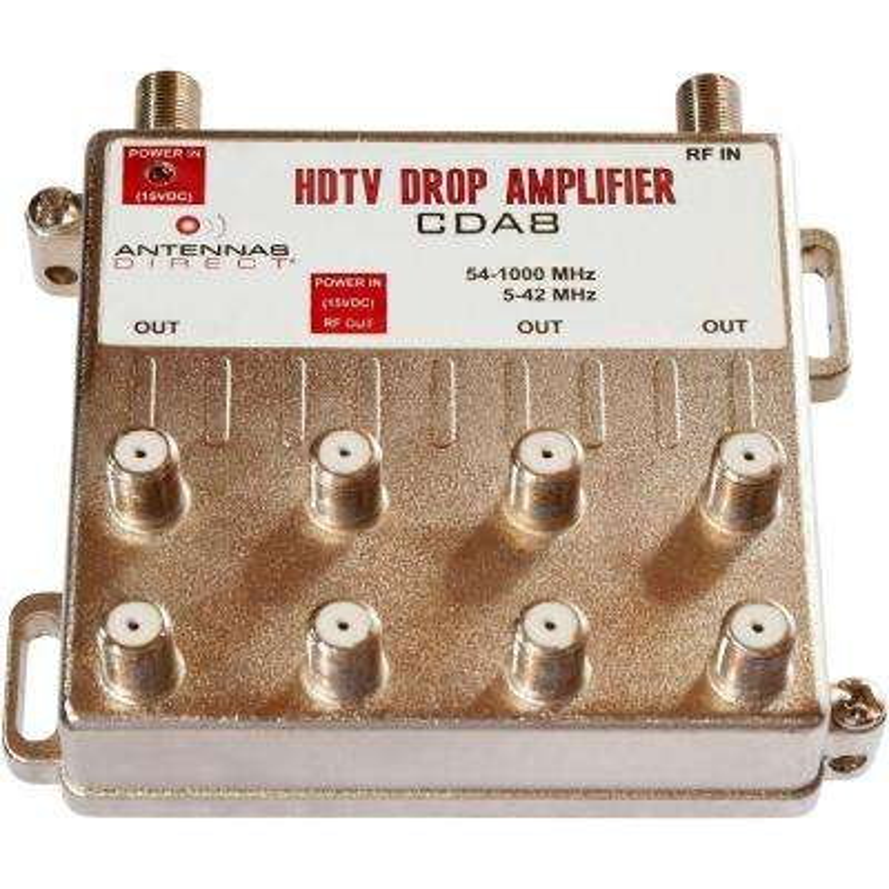 8 Output TV / CATV Distribution Amplifier