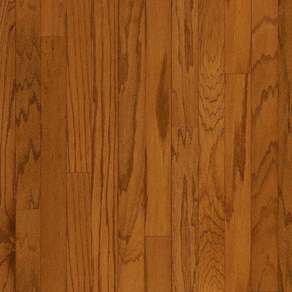 Bruce oak fall meadow 3 8 in thick x 5 in wide x random for Hardwood plank flooring
