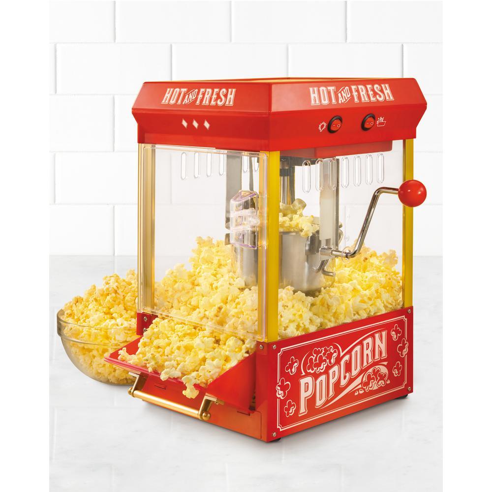 nostalgia vintage collection kettle popcorn maker kpm200. Black Bedroom Furniture Sets. Home Design Ideas