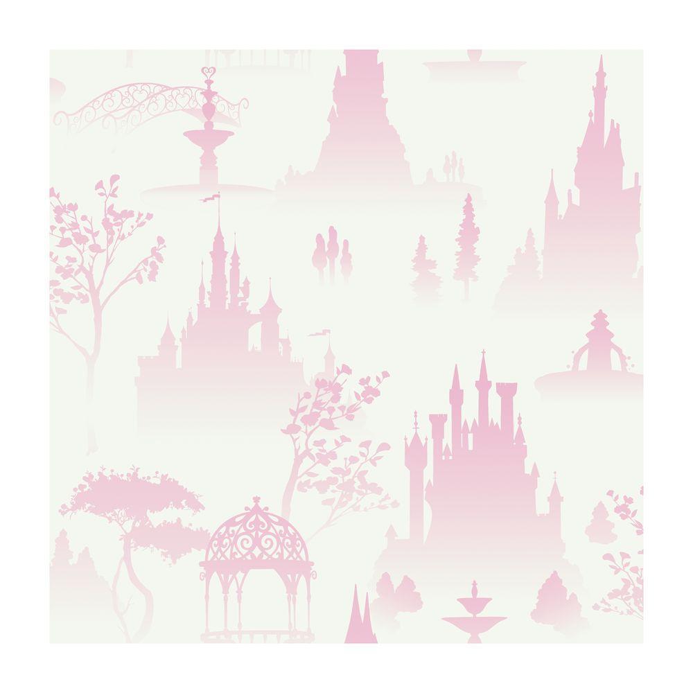York Wallcoverings Scenic Princess Toile Wallpaper