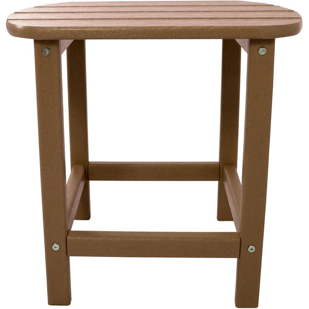 Teak All-Weather Patio Side Table