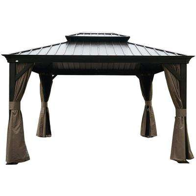 Permanent Gazebos Shade Structures The Home Depot