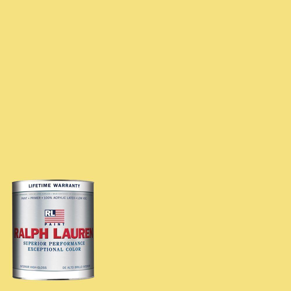 Ralph Lauren 1-qt. Collegiate Yellow Hi-Gloss Interior Paint