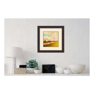 21.38 in. W x 21.38 in. H Vintage Road by PI Studio Printed Framed Wall Art