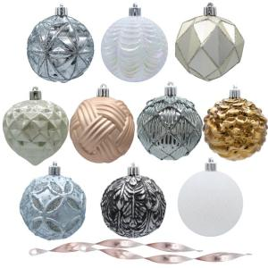 Ashford Meadows 80 mm Assorted Ornament (75-Count)