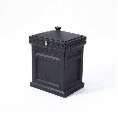 Black Deluxe Package Delivery Box