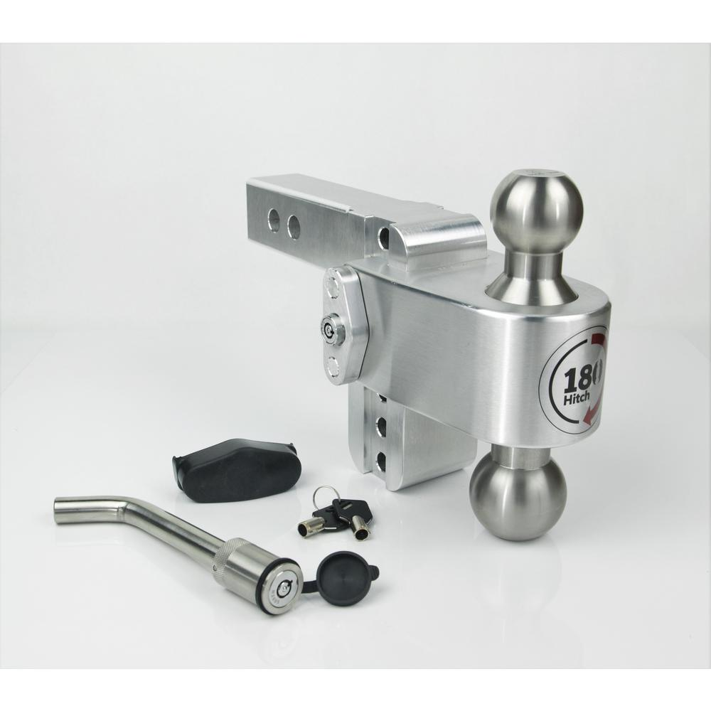 Adjustable Hitch Receiver >> Weigh Safe 180 Hitch By Weigh Safe With Keyed Alike Receiver Pin