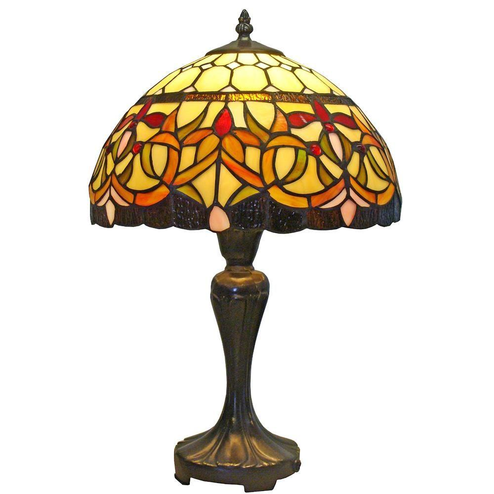 Tiffany Style Fl Table Lamp