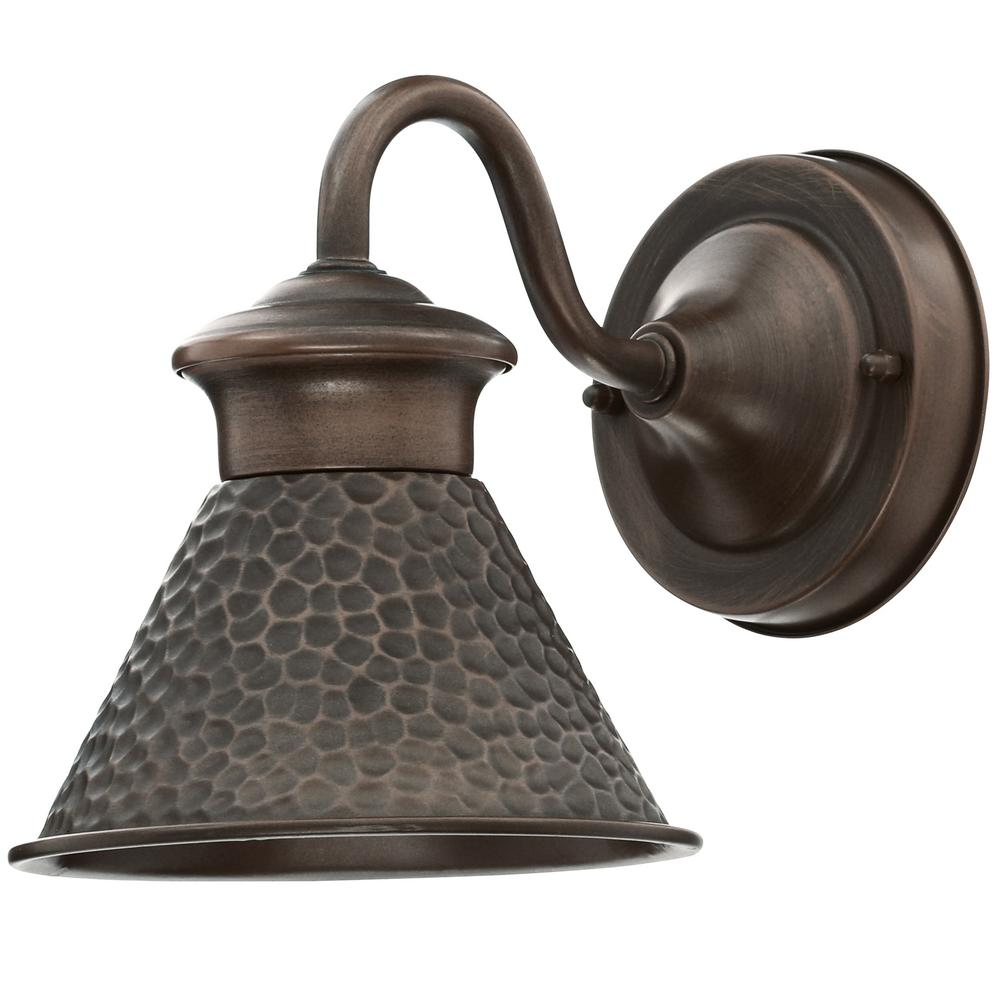 Home decorators collection essen 1 light antique copper for Home decorators lamps