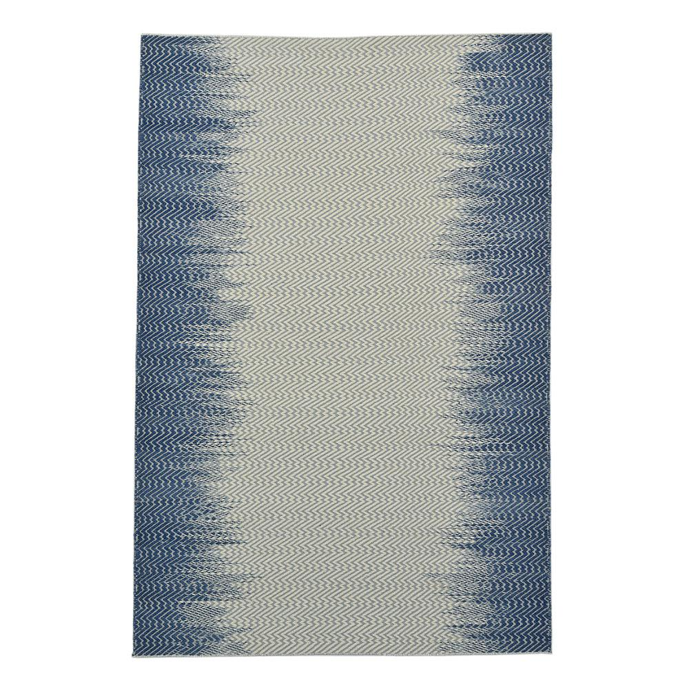 Solo Rugs Clara Contemporary Navy 9 Ft X 12 Ft Hand Woven Area Rug S3011 09001200 Mblu The Home Depot