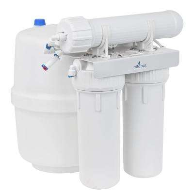 Three Stage 23.3 GPD Reverse Osmosis Water Treatment System