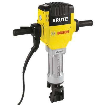 Brute 15 Amp 1-1/8 in. Corded Portable Electric Hex Breaker Hammer Kit with Cart and 2 Chisels