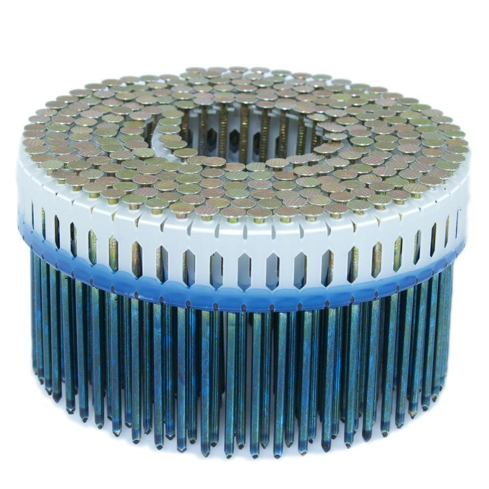 2.5 in. x 0.092 in. 0-Degree Smooth Galvanized Plastic Sheet Coil