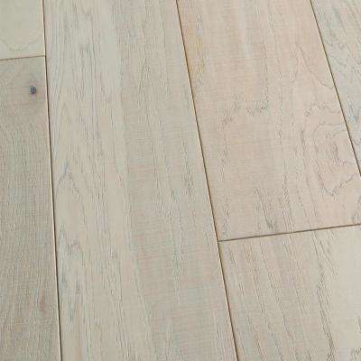 Hickory Granada 3/8 in. T x 6-1/2 in. W x Varying L Engineered Click Hardwood Flooring (23.64 sq. ft./case)