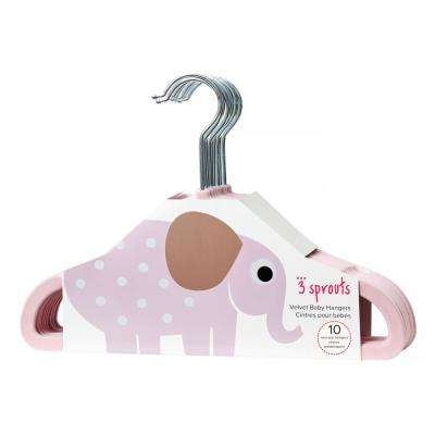 Pink Elephant Hangers (pack of 10)