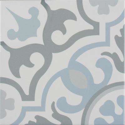 Blume Encaustic 8 in. x 8 in. Glazed Porcelain Floor and Wall Tile (5.33 sq. ft. / case)