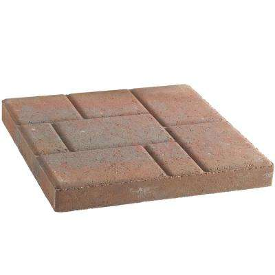 Stratford 16 in. x 16 in. x 1.75 in. Old Town Blend Concrete Step Stone