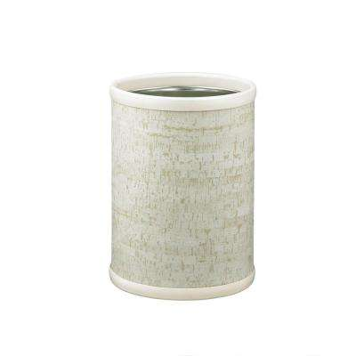Stucco Cork 8 qt. Round Waste Basket