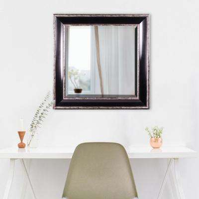 Hartley Square Black Vanity Mirror