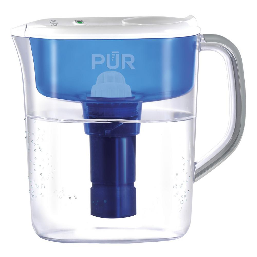 PUR Ultimate 11-Cup Pitcher with LED and Lead Reduction Filter