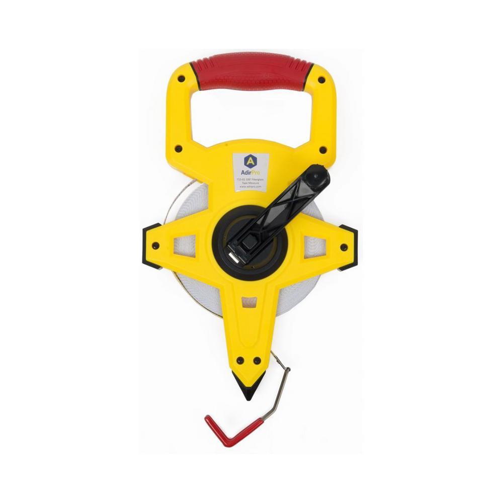 300 ft Fiberglass Long Measuring Tape Measure Metric SAE Crank Durable Hand Tool