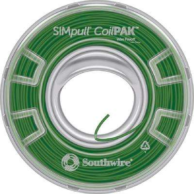 1000 ft. 12 Green Stranded CU CoilPAK SIMpull THHN Wire