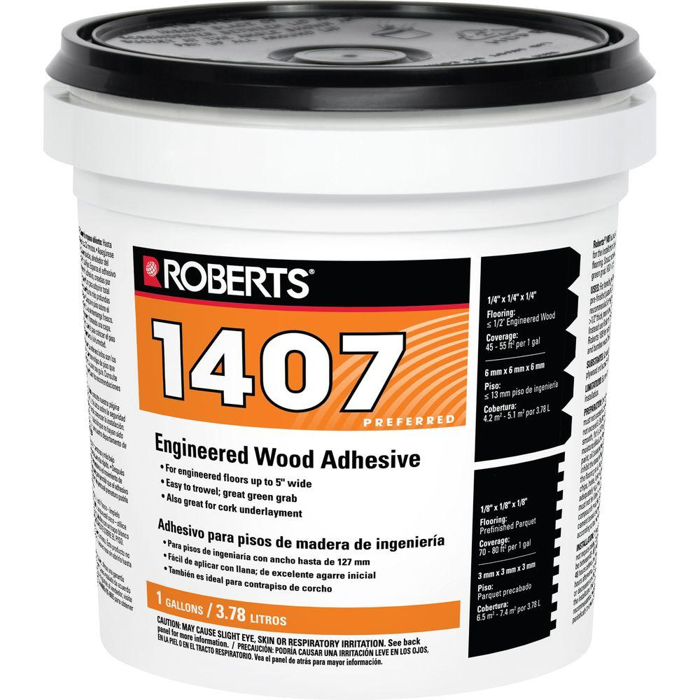 Roberts 1 Gal. Engineered Wood Glue Adhesive